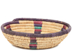 African Basket - Small Tuareg Tray -  8 Inches Across - #95506