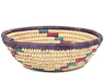 African Basket - Small Tuareg Tray -  6.25 Inches Across - #95508
