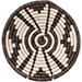 African Basket - Burundi Sisal Coil Weave Bowl -  6 Inches Across - #76889