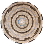 African Basket - Cameroon Coil Weave Bowl - 14.75 Inches Across - #72600