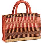 African Basket - Ghana Bolga - Business Basket - 16 Inches Across - #65444