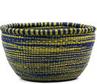 African Basket - Ghana Bolga - No Handle Market - 16.5 Inches Across - #74881
