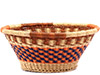 African Basket - Ghana Bolga - Open Bowl - 14 Inches Across - #77373