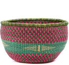 African Basket - Ghana Bolga - No Handle Market - 15 Inches Across - #77520