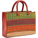 African Basket - Ghana Bolga - Business Basket - 16 Inches Across - #78517