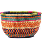African Basket - Ghana Bolga - No Handle Market - 16 Inches Across - #78904