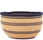 African Basket - Ghana Bolga - No Handle Market - 16 Inches Across - #78914