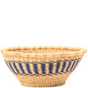 African Basket - Ghana Bolga - Open Bowl - 14 Inches Across - #79901
