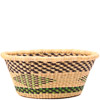 African Basket - Ghana Bolga - Open Bowl - 14 Inches Across - #79902