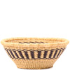 African Basket - Ghana Bolga - Open Bowl - 14 Inches Across - #79904