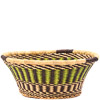 African Basket - Ghana Bolga - Open Bowl - 14 Inches Across - #79905