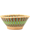 African Basket - Ghana Bolga - Open Bowl - 14.5 Inches Across - #79906
