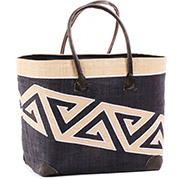African Market Basket - Madagascar - Malagasy Tote - Approximately 17 Inches Across - #75892