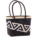 African Market Basket - Madagascar - Malagasy Tote - Approximately 12 Inches Across - #75896