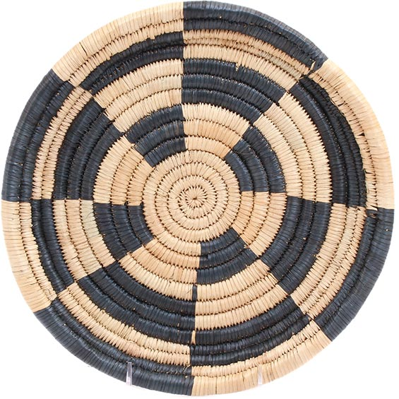 African Basket - Malawi Tray - 11 Inches Across - #73648