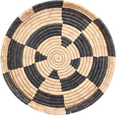 African Basket - Malawi Tray - 17 Inches Across - #73655