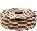 African Basket - Malawi Tabletop Storage - 11.5 Inches Across - #75977