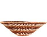 African Basket - Makalani Bowl - 15.75 Inches Across - #66584