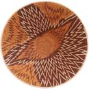 African Basket - Makalani Bowl - 13 Inches Across - #71763