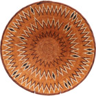 African Basket - Makalani Bowl - 14 Inches Across - #71766