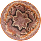 African Basket - Makalani Bowl - 13.5 Inches Across - #71768