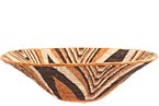 African Basket - Makalani Bowl - 13.75 Inches Across - #71769