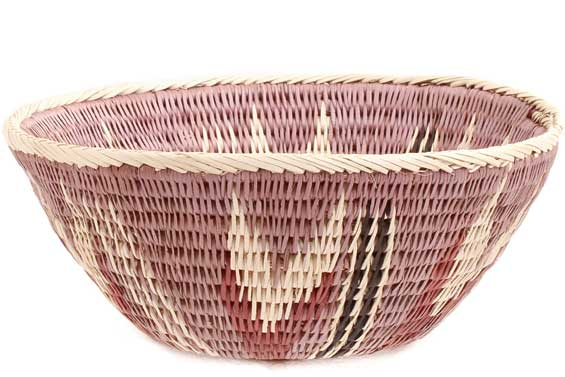 African Basket - Makalani Bowl -  7 Inches Across - #71830