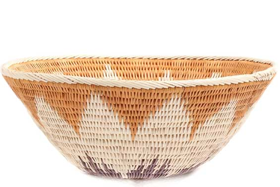 African Basket - Makalani Bowl -  7.5 Inches Across - #71831