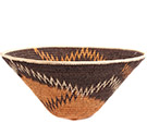 African Basket - Makalani Bowl - 12.75 Inches Across - #73146