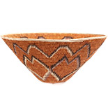 African Basket - Makalani Bowl - 14.5 Inches Across - #73150