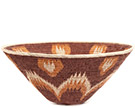 African Basket - Makalani Bowl - 12.75 Inches Across - #73151