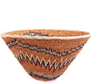 African Basket - Makalani Bowl - 12 Inches Across - #73155
