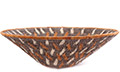 African Basket - Makalani Bowl - 11 Inches Across - #76743