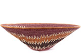 African Basket - Makalani Bowl - 15 Inches Across - #76754
