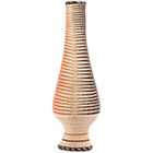African Basket - Rwanda - Reed and Grass Vase Basket - 20 Inches Tall - #77735