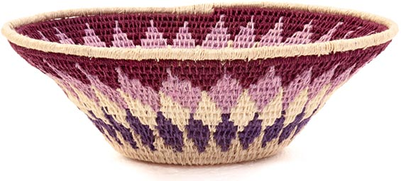 African Basket - Swaziland - Sisal Bowl -  6.25 Inches Across - #38839