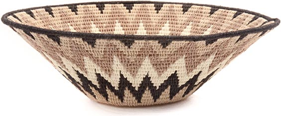 African Basket - Swaziland - Sisal Bowl -  9.5 Inches Across - #44388
