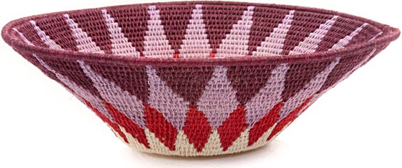 African Basket - Swaziland - Sisal Bowl -  9.5 Inches Across - #44394