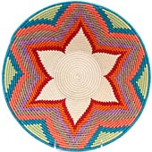 African Basket - Swaziland - Masterweave Bowl - 12 Inches Across - #61482