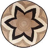 African Basket - Swaziland - Masterweave Bowl - 12 Inches Across - #61488