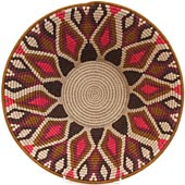 African Basket - Swaziland - Masterweave Bowl - 12 Inches Across - #65611