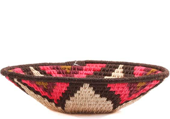 African Basket - Swaziland - Sisal Bowl - 5 Inches Across - #65748