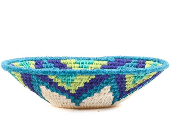 African Basket - Swaziland - Sisal Bowl -  5 Inches Across - #70567