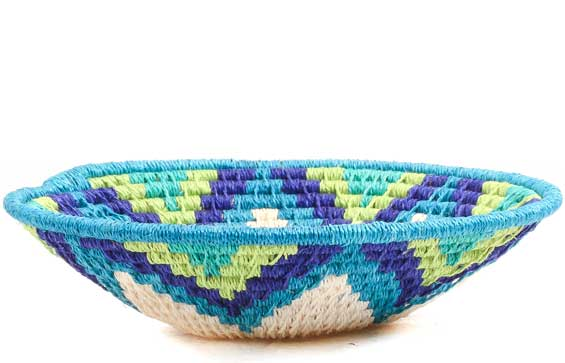 African Basket - Swaziland - Sisal Bowl -  5 Inches Across - #70570