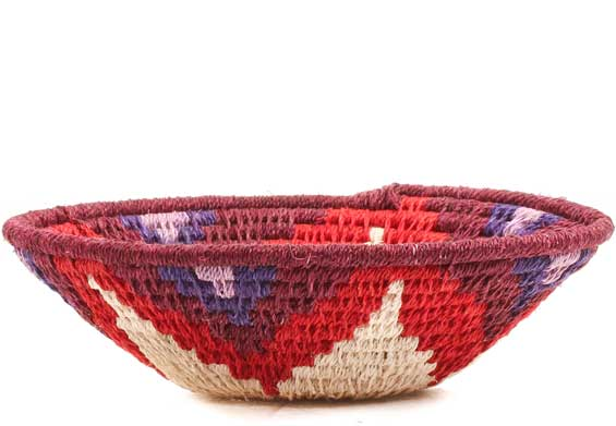 African Basket - Swaziland - Sisal Bowl -  5 Inches Across - #70572