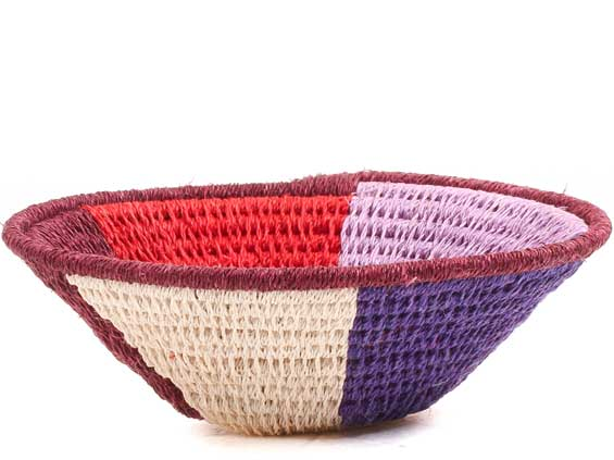 African Basket - Swaziland - Sisal Bowl -  4.5 Inches Across - #70579