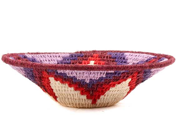 African Basket - Swaziland - Sisal Bowl -  5 Inches Across - #70580