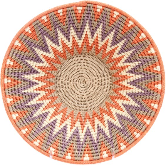 African Basket - Swaziland - Sisal Bowl -  9.75 Inches Across - #71541