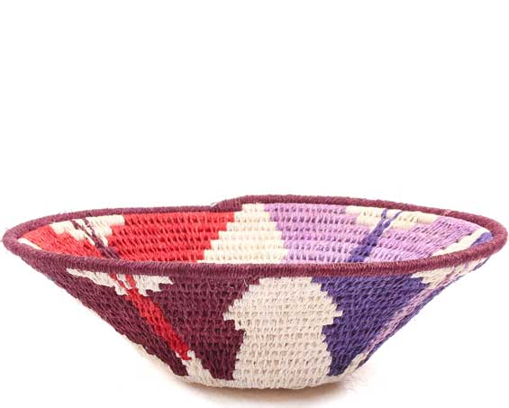 African Basket - Swaziland - Sisal Bowl -  6.25 Inches Across - #71545