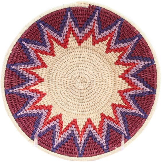 African Basket - Swaziland - Sisal Bowl -  6.75 Inches Across - #71553